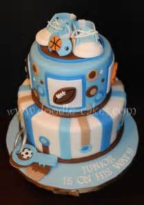 Sports Baby Shower Cake Ideas