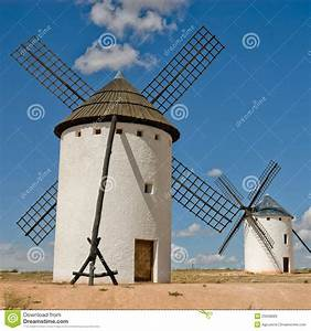 Medieval windmill stock image. Image of outside, hill ...