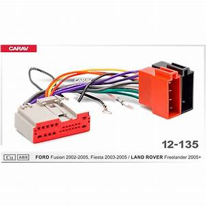 Carav 12 135 Iso Radio Adapter Forford Fusion For Land