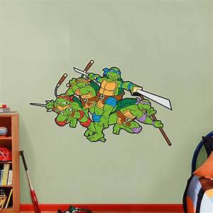 classic teenage mutant ninja turtles wall decal shop With awesome ninja turtle wall decals
