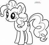 Pony Coloring Pages Pie Pinkie Colouring Pinky Mlp Printable Sheets Sheet Colour Ponies Template Cartoon Pinkypie Google Friendship Magic Boyama sketch template