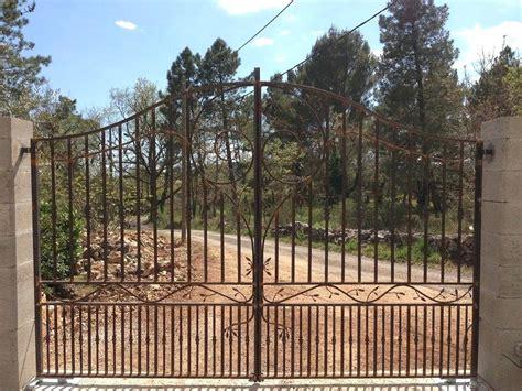 prix portail fer forgé portail en fer forge en fer portail fer forge plein blanc