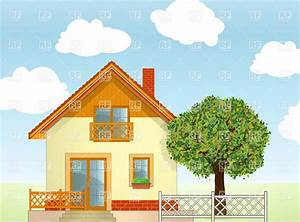 House Garden Clipart