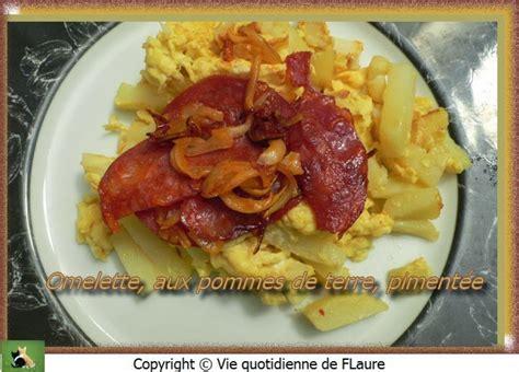 Recette Omelette Aux Pommes De Terre by Recette Omelette Aux Pommes De Terre Piment 233 E