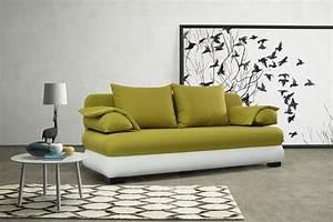 Big Sofa Grün : modernes schlafsofa sofa couch in gr n weiss schlaffunktion dili kaufen bei kuechen ~ Indierocktalk.com Haus und Dekorationen