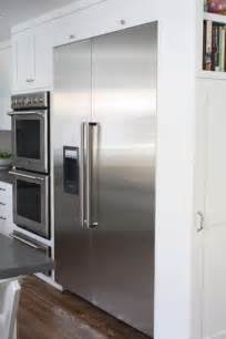 48 Cabinet Depth Refrigerator by Thermador Home Appliance Blog Two Peas And Their Pod