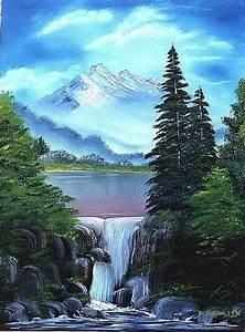 Waterfall Paintings