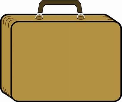 Briefcase Clip Clipart Clker Domain