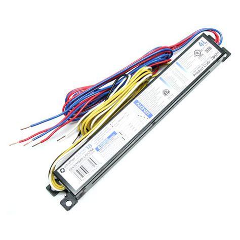 4 l t8 ballast wattage ge 78625 ge432max l ultra t8 fluorescent ballast
