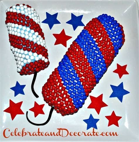 easy 4th of july cakes make an easy fourth of july firecracker cake celebrate decorate