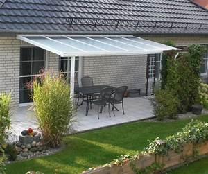 Terrassen berdachung f r die eindeckung mit verbund for Glasscheiben für terrassenüberdachung