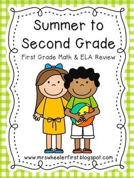 First Grade Summer Review Activities By Mrs Wheeler Tpt