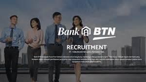 bank btn lowongan kerja customer service  teller