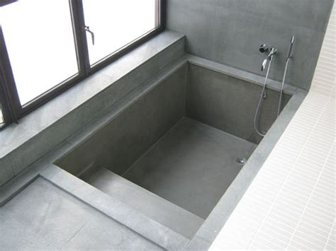 cement tub manufacturer get real surfaces are designers of architectural concrete products like this modern