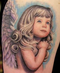 Baby Angel Tattoo Ideas and Baby Angel Tattoo Designs | Page 5