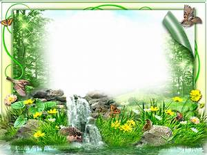 Collage Template Photoshop Nature Frame Png Free Nature Frame Png Transparent