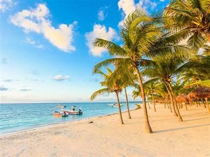 Cancun Mexico Riviera Maya Akumal Bay Sunny