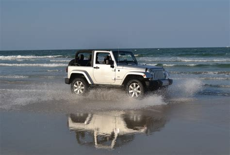 beach jeep wrangler 2011 jeep wrangler 70th anniversary edition review test