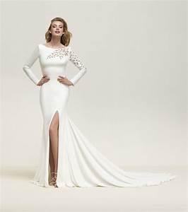 Robe Mariage 2018 : robe de mari e 2018 pronovias d voile toute sa collection ~ Melissatoandfro.com Idées de Décoration