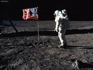 Space: Buzz Aldrin at Apollo 11, 11 July 1969, desktop ...