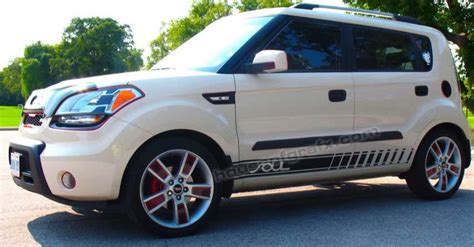 Kia Soul Decal by Solid Window Panel Vinyl Graphics Decal Decals Fits Kia