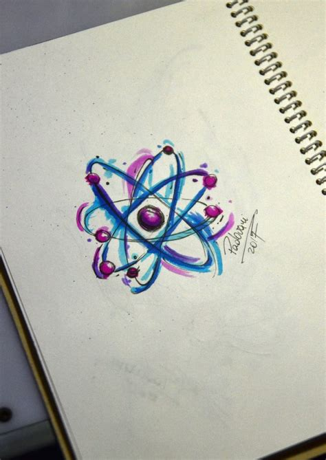 Best 25+ Atom Tattoo Ideas On Pinterest  Compass For