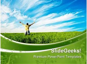 sample construction proposal person enjoying freedom nature powerpoint templates and
