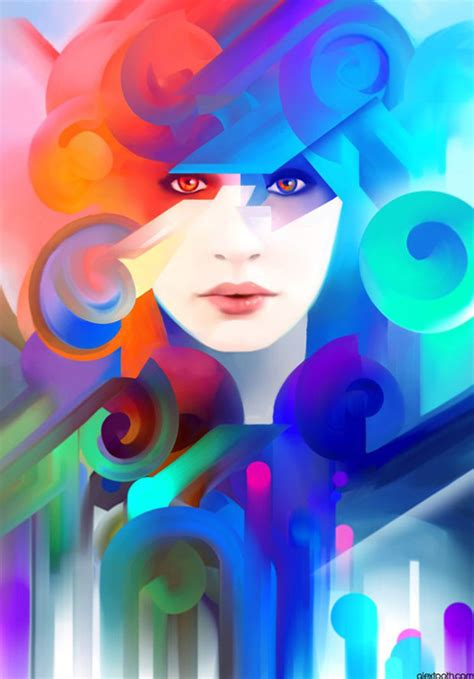 creative digital illustrations examples  inspiration