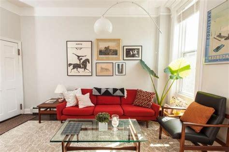 Wohnzimmer Ideeen Mit Rote Sofa  Die Neuesten
