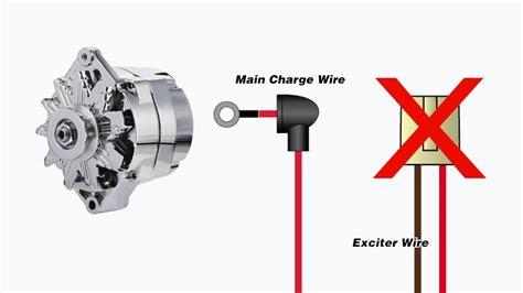 wire alternator warning light youtube