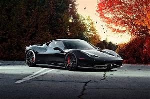 Black Ferrari Wallpapers Wallpaper Cave