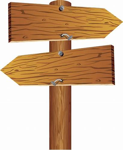 Sign Wood Wooden Arrow Blank Transparent Pngkey