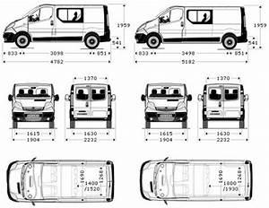 Dimension Opel Vivaro : the blueprints cars vauxhall vauxhall opel vivaro double cab ~ Gottalentnigeria.com Avis de Voitures