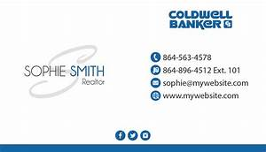 Coldwell banker business cards 21 coldwell banker for Coldwell banker business card template