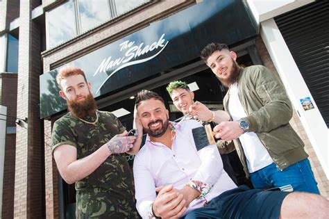 man shack announces  barbering academy lovebelfast