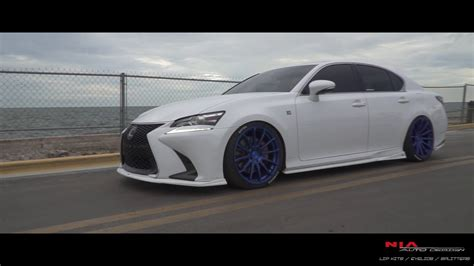 lexus gs  sport full splitter lip kit sides rears