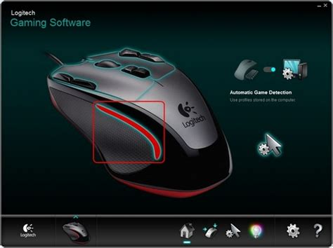 gaming in color changing led colors on the g300 gaming mouse