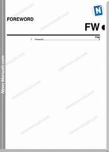 Subaru Legacy B12 2003 Service Manuals