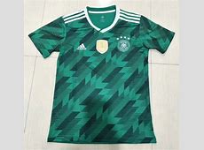 Germany 2018 World Cup Away Shirt Soccer Jersey