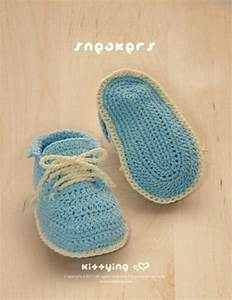 Items Similar To Crochet Pattern Baby Sneakers