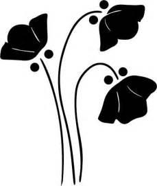 Flower Silhouette Clip Art Free