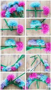 Learn How To Make Easy Tassel Flower Crowns With Yarn