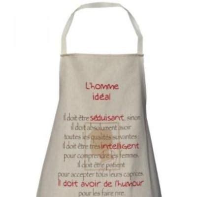 tablier cuisine pour homme tablier de cuisine accessoire séduction paperblog