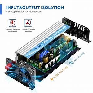 1200watt Pure Sine Wave Power Inverter