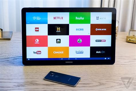 samsungs galaxy view   enormous   tablet built