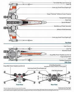 A Schematic Of The Star Wars T