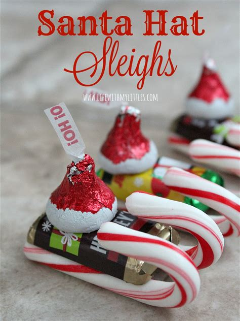 candy santa hat sleighs life   littles