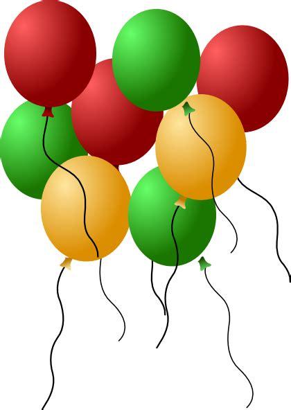 gambar balon ulang  clipart