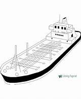 Coloring Ship Boat Cargo Drawing Printable Pearl Catamaran Fishing Pirate Cartoon Simple Coloringfolder Sheets Clipartmag Sea sketch template