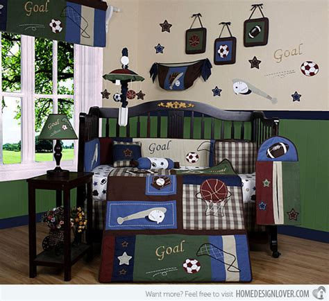 sports bedroom decor 20 baby boy nursery rooms theme and designs home design 13382